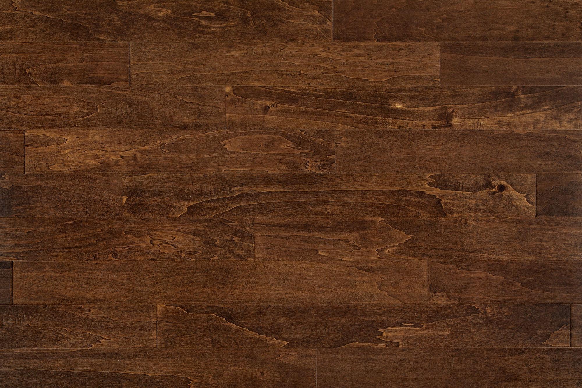 "French Roasted / Birch / 5"" Engineered Hardwood - Phoenix Collection 0"