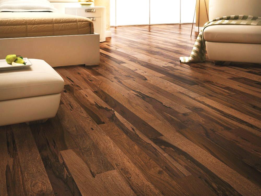 Free Samples Vanier Engineered Hardwood Brazilian Exotic Collection Brazilian Pecan Chocolate 5 1 4