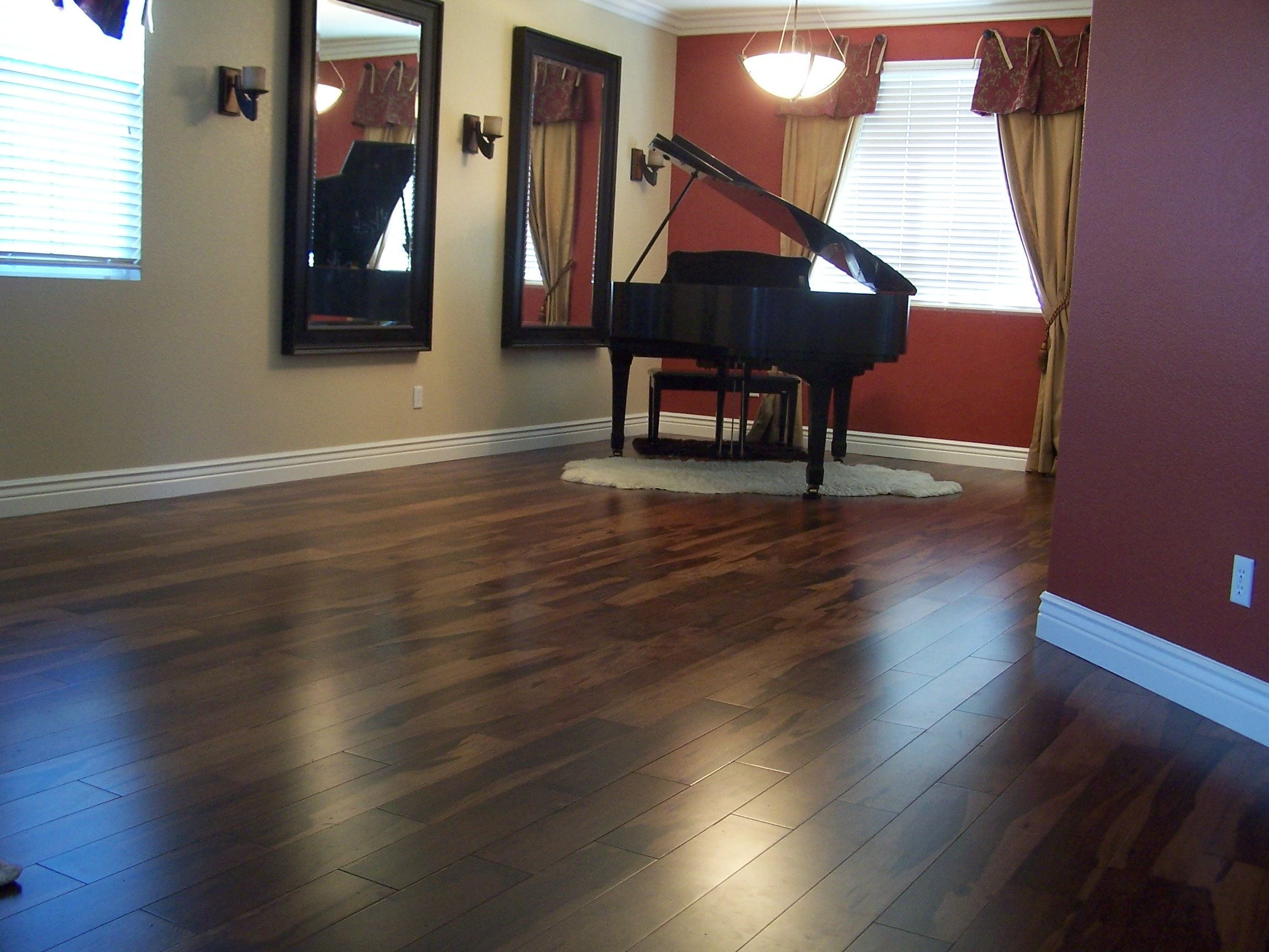 pecan hardwood mono plank serra product group flooring full floor