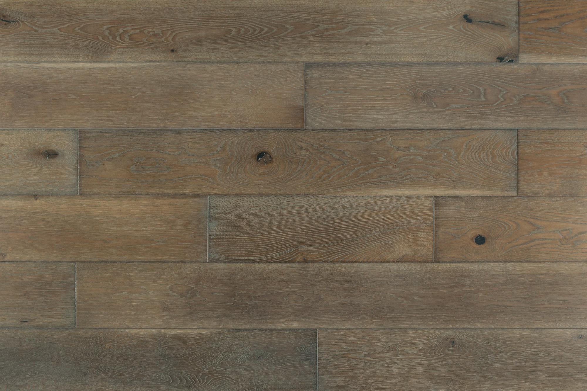 "4mm Loxley / Oak / 7 1/2"" Engineered Hardwood - European Oak Whitewash Collection 0"