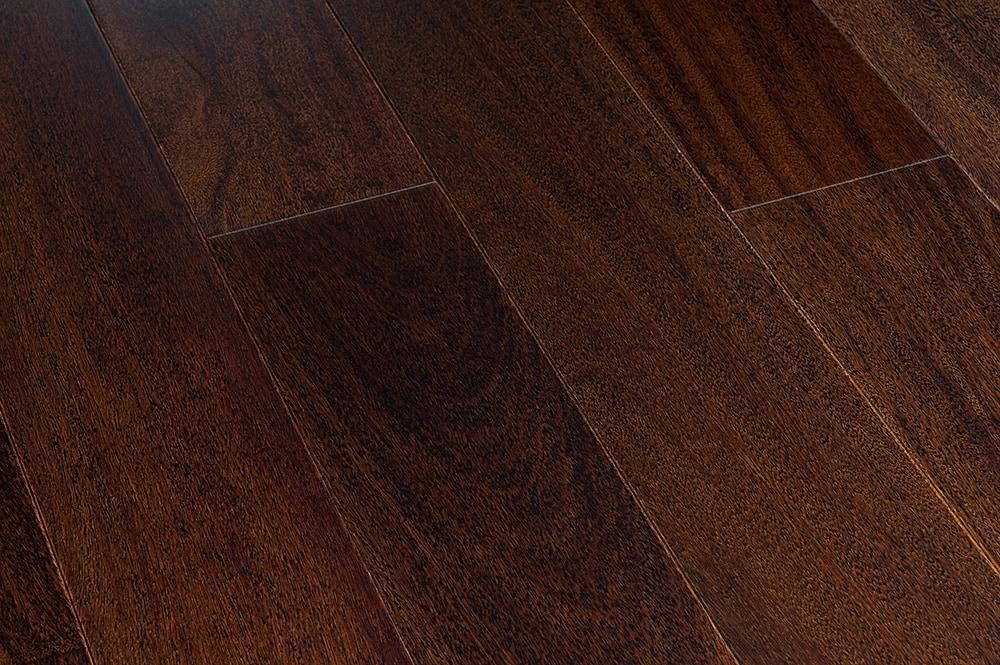"Espresso / Cumaru / Smooth / 4 3/4"" Engineered Hardwood - Smooth South American Collection 0"