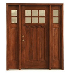 Exterior Glass Doors. 10106582 mahogany double rh chocolate 82x66 sup vert 1 Carrick Exterior Mahogany Glass Doors Craftsmen Collection