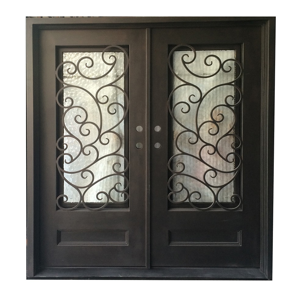 Grafton exterior wrought iron glass doors fern collection Grafton exterior wrought iron doors