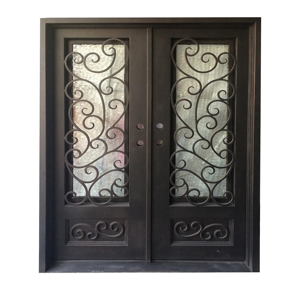Ordinaire Grafton Exterior Wrought Iron Glass Doors Fern Collection
