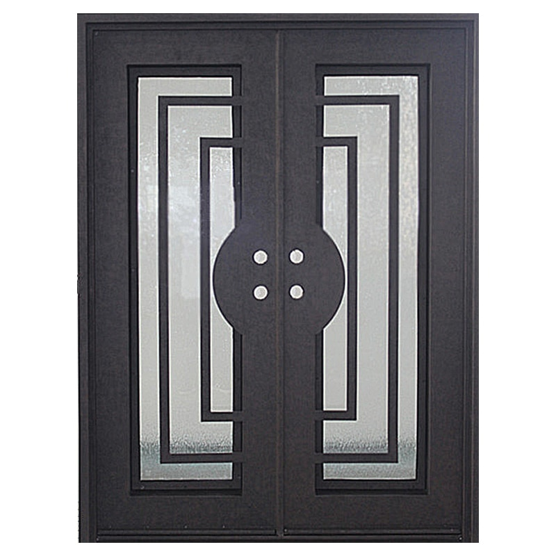 Loyal Iron Doors Iron Doors Modern Dark Bronze Modern 82x62