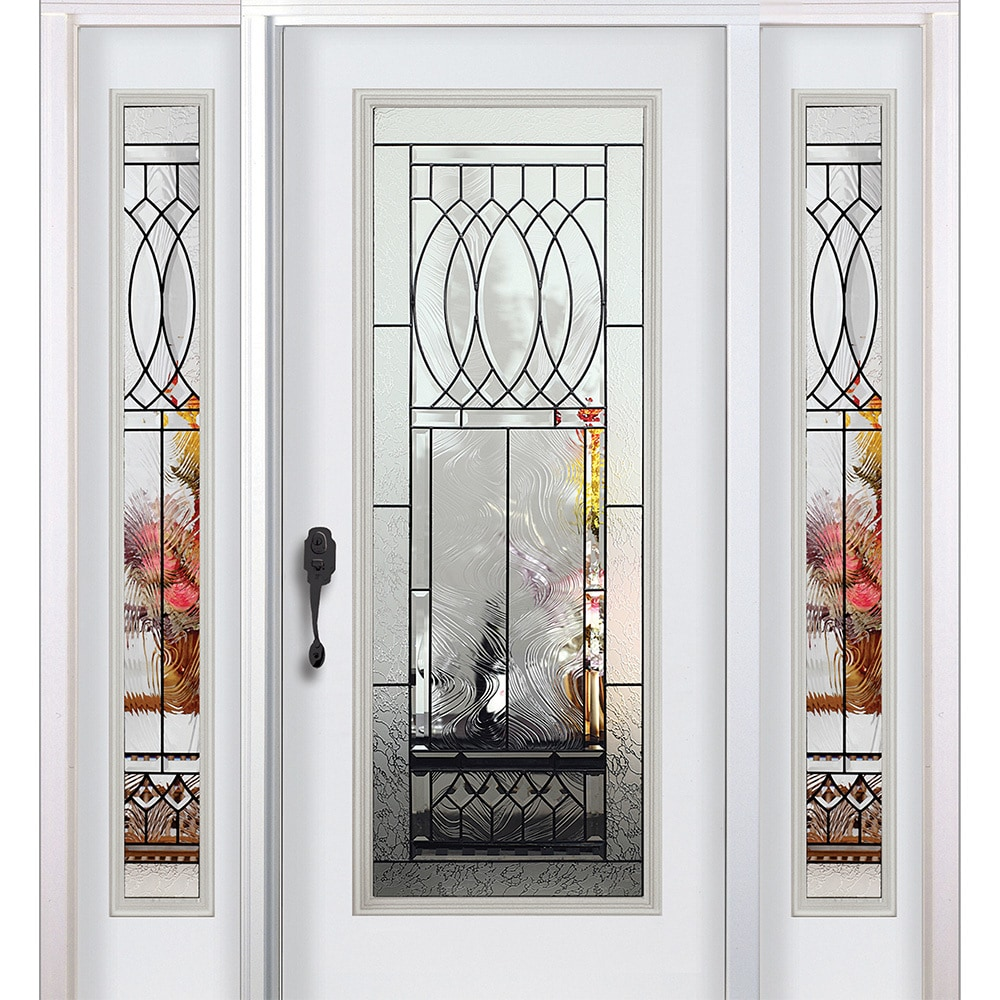 15000466-infinity-white-lh-80x36-comp  sc 1 st  BuildDirect & New Concept Exterior Doors - Pre-Hung Steel Infinity Doors White Pre ...
