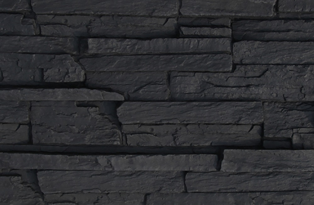 FREE Samples Black Bear Black Bear Faux Stone Siding Ledge Stack Ledge Sta