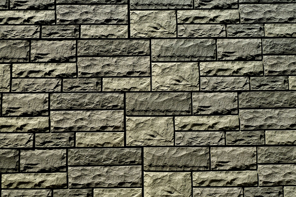 faux stone siding cost fake lime charcoal sq ft flat veneer menards