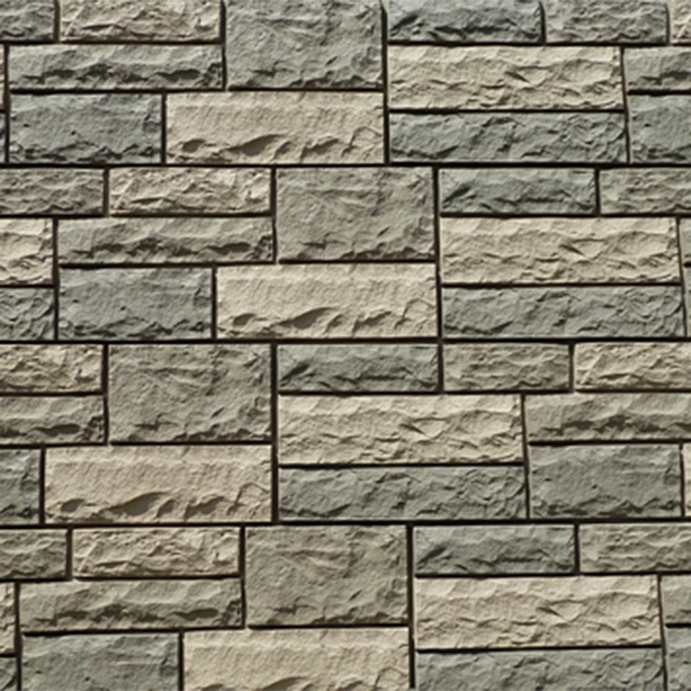 Stone And Tile Works : Stoneworks faux stone siding lime stony