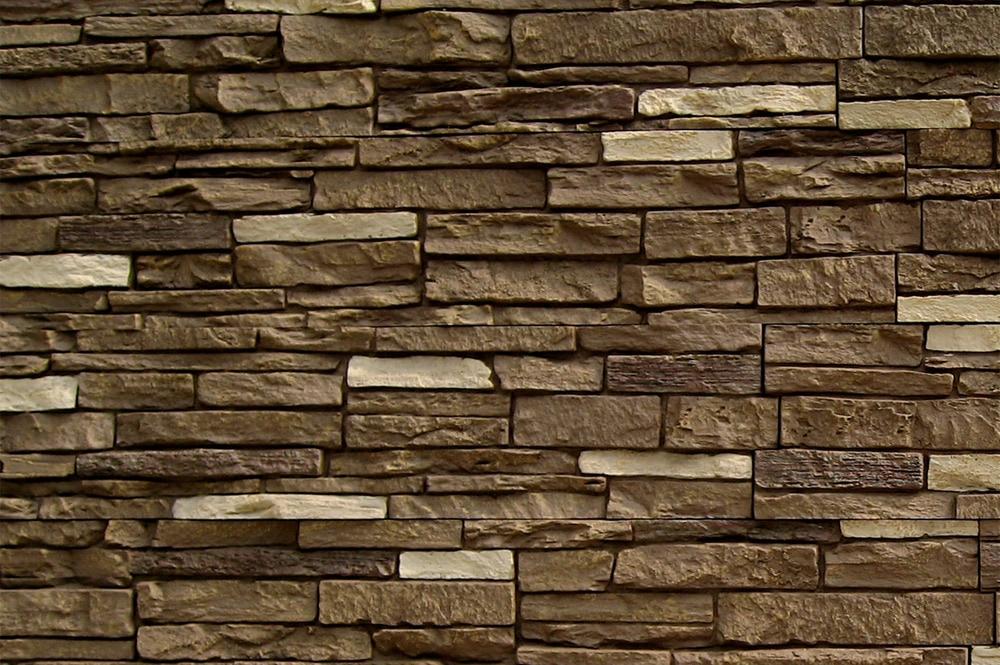 StoneWorks StoneWorks Faux Stone Siding   Slate Stone Sienna / 17.12 Sq Ft  Flat
