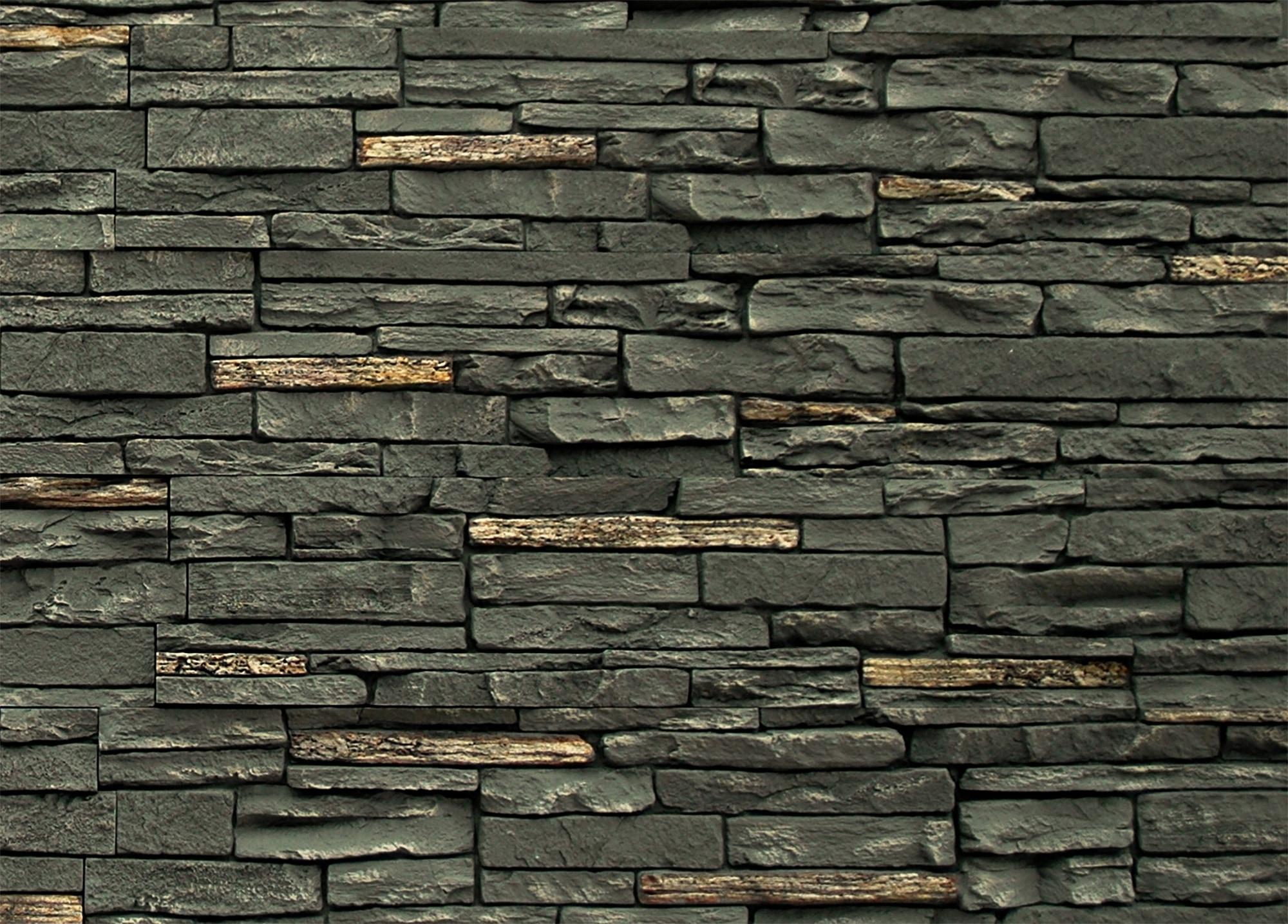 Twighlight / 17.12 Sq ft Flat StoneWorks Faux Stone Siding - Slate Stone 0