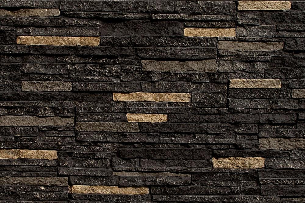 Stoneworks stoneworks faux stone siding stacked stone - Faux stacked stone interior walls ...