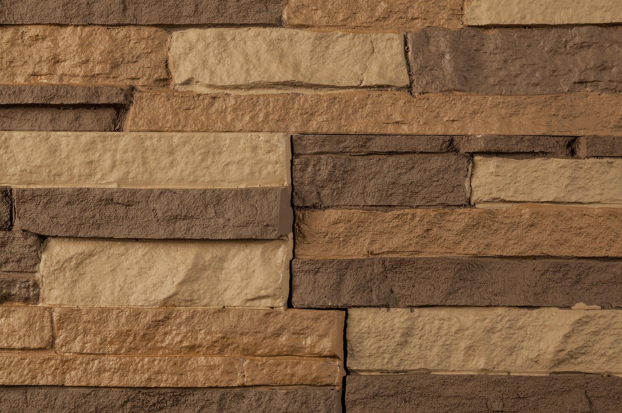 stoneworks stoneworks faux stone siding stacked stone stacked stone toffee sq ft flat - Faux Stone Veneer