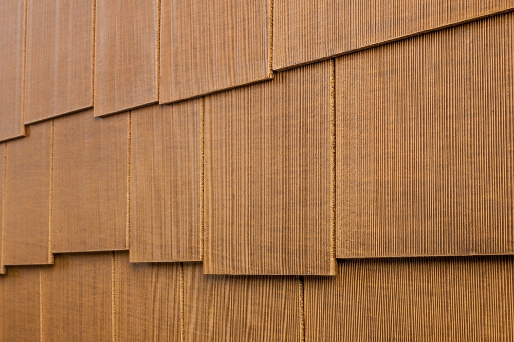 "7 Popular Siding Materials To Consider: Cerber Rustic Fiber Cement Siding 5/16""x5 1/4""x12' / Old"