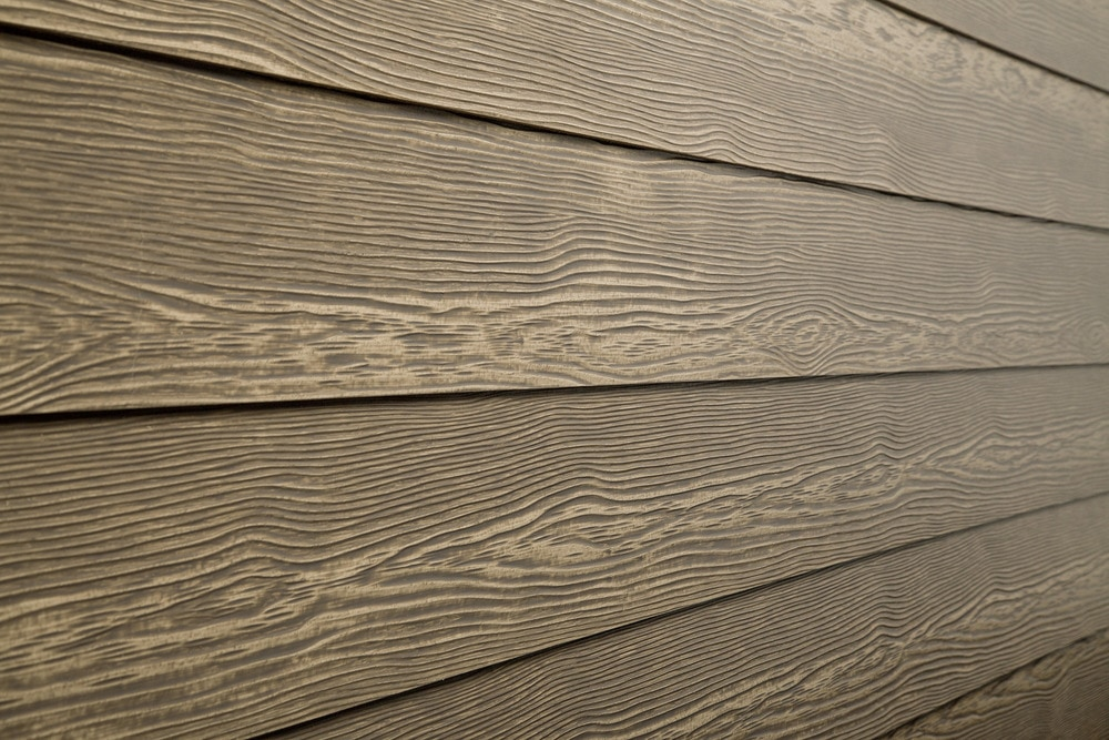 Cerber rustic fiber cement siding 5 16 x5 1 4 x12 39 river for Exterior siding that looks like wood