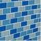 "Blue Brick Blend / 1""x2"""