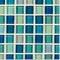 """Iridescent Blue Blend / 1""""x1"""""""