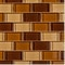 "Brown Brick Blend / 1""x2"""
