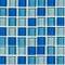 """Blue Blend / 1""""x1"""""""