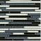 Black Bamboo Glass Blend / Pattern