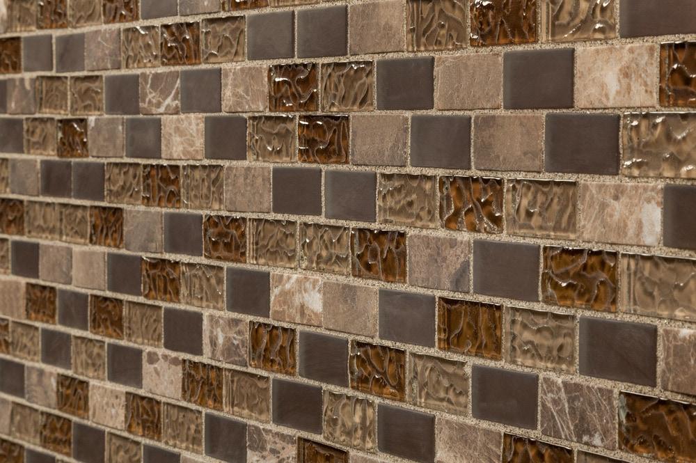 Cabot Mosaic Tile Glass Stone Blends Sonoma Blend 1 Quot X2 Quot