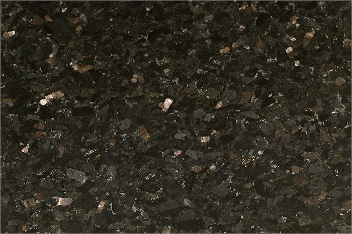 Top Centaur Granite Countertops Black Galaxy / Counter Top Blank  JP55