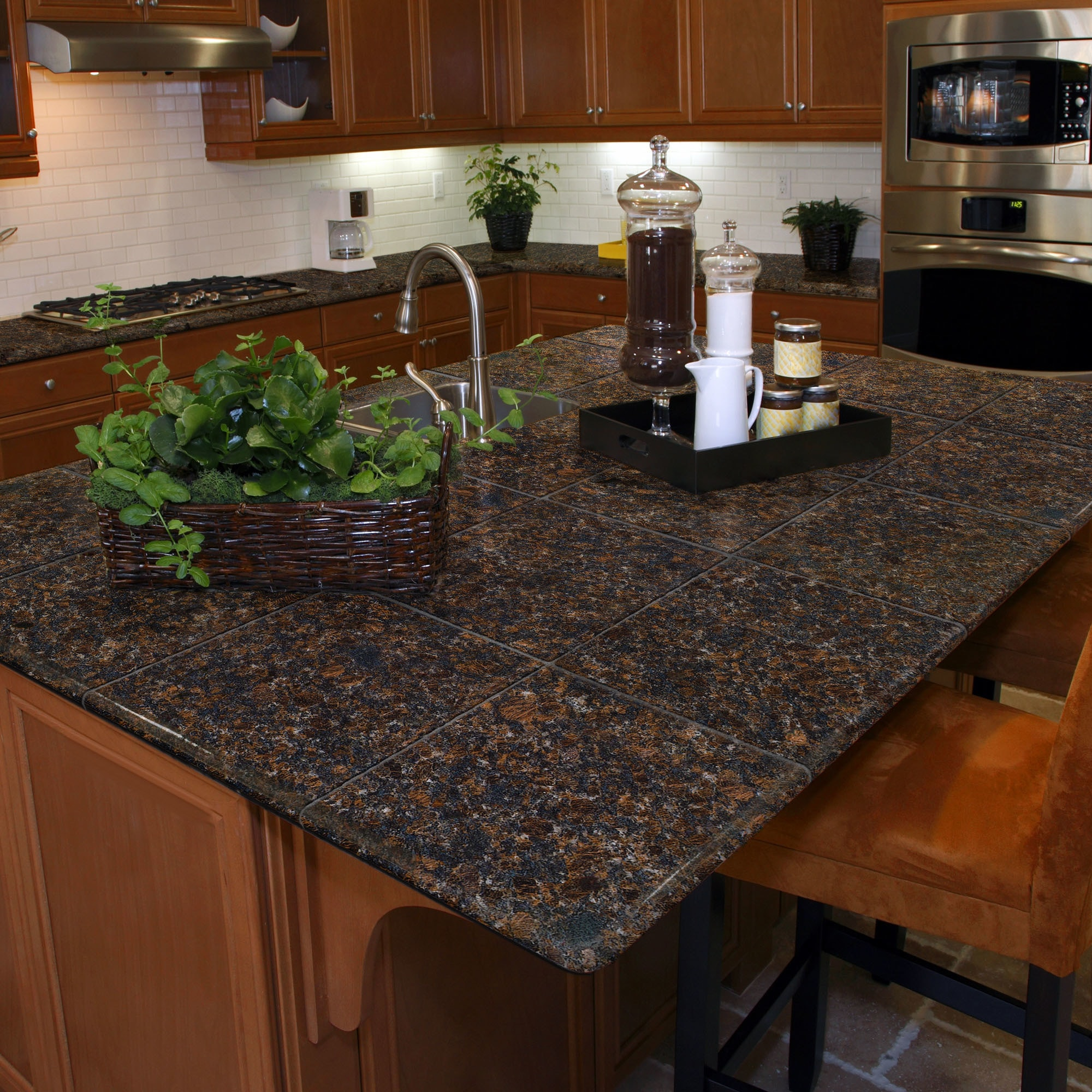 for tile granite lazy countertops modular youtube watch kitchen