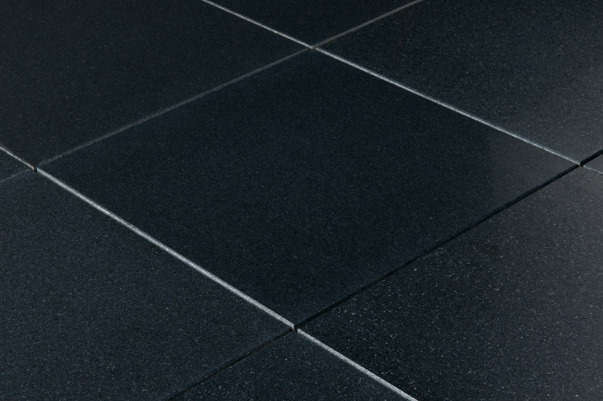 Cabot Granite Tile Honed Series Absolute Black 12x12x38