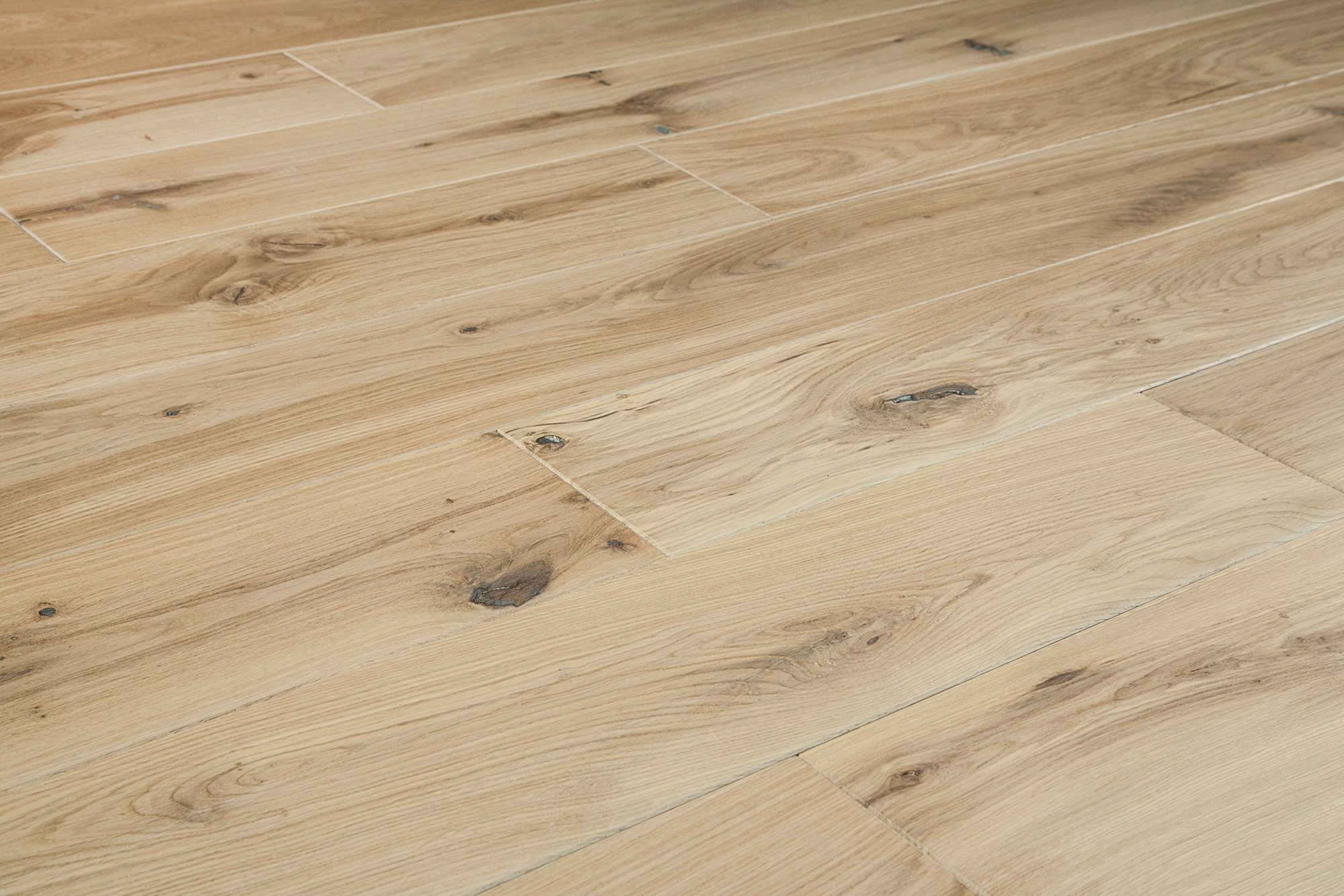 Jasper Hardwood European Brushed Oak Collection Natural Oak