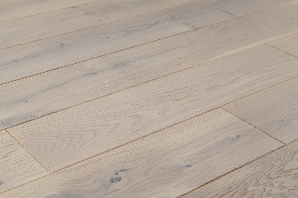 Jasper Hardwood European Brushed Oak Collection White