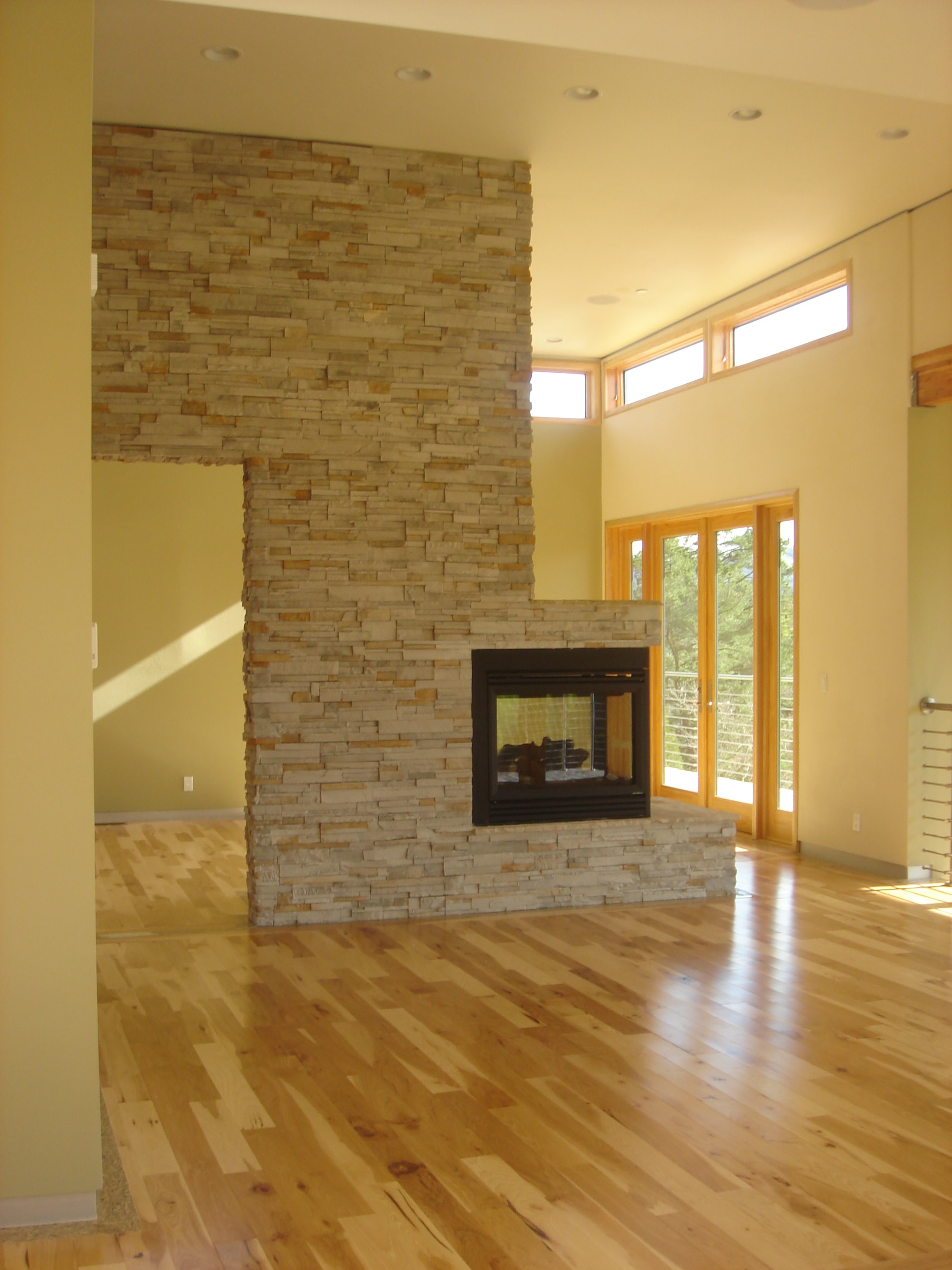Jasper Hardwood Hickory Collection Natural Hickory Standard 3 . Hickory  Fireplace And Patio ...