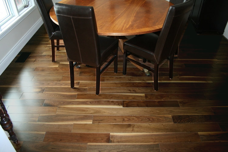 Free Samples Jasper Hardwood Prefinished American Black Walnut Collection American Black Walnut Builders 3 1 4