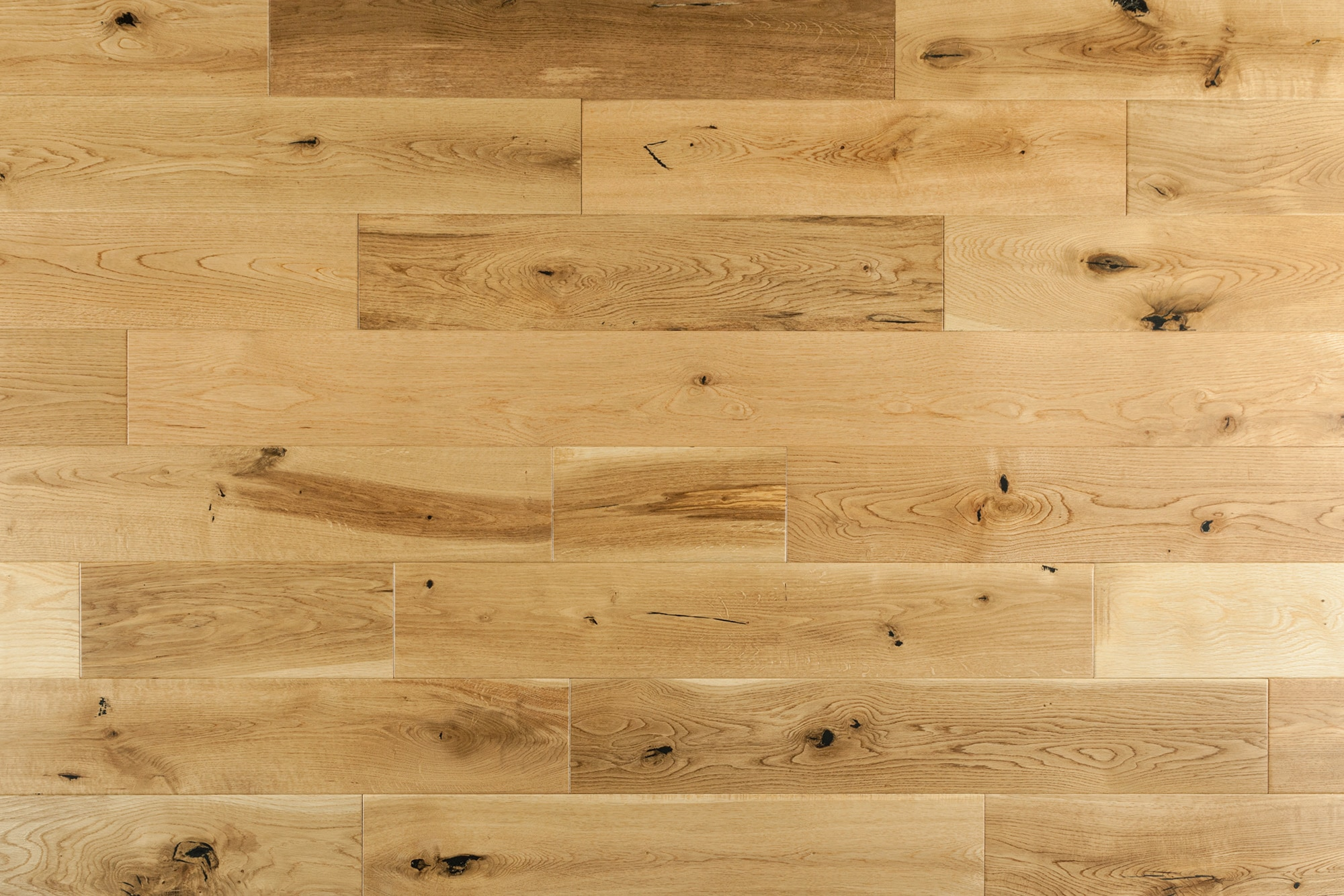 """Natural / French Oak / Builders / 6"""" / Distressed Hardwood Flooring - Maison Oak Collection 0"""