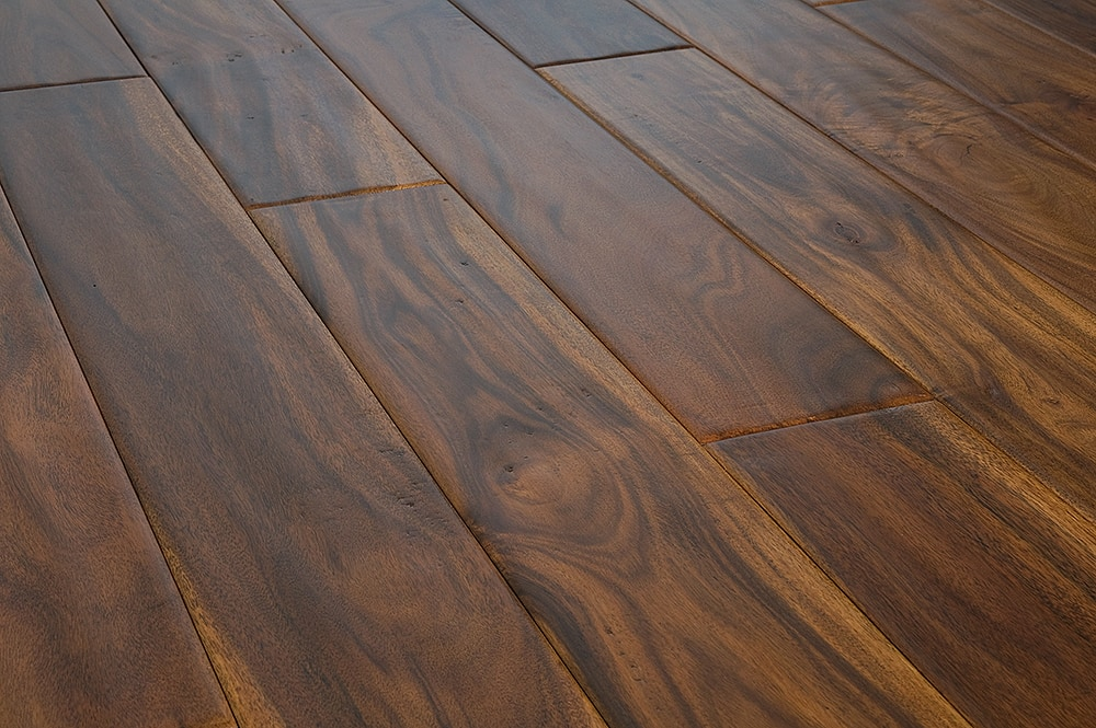 Mazama Hardwood Handscraped Tropical Collection Acacia Golden 4 7 8 Quot Random Length