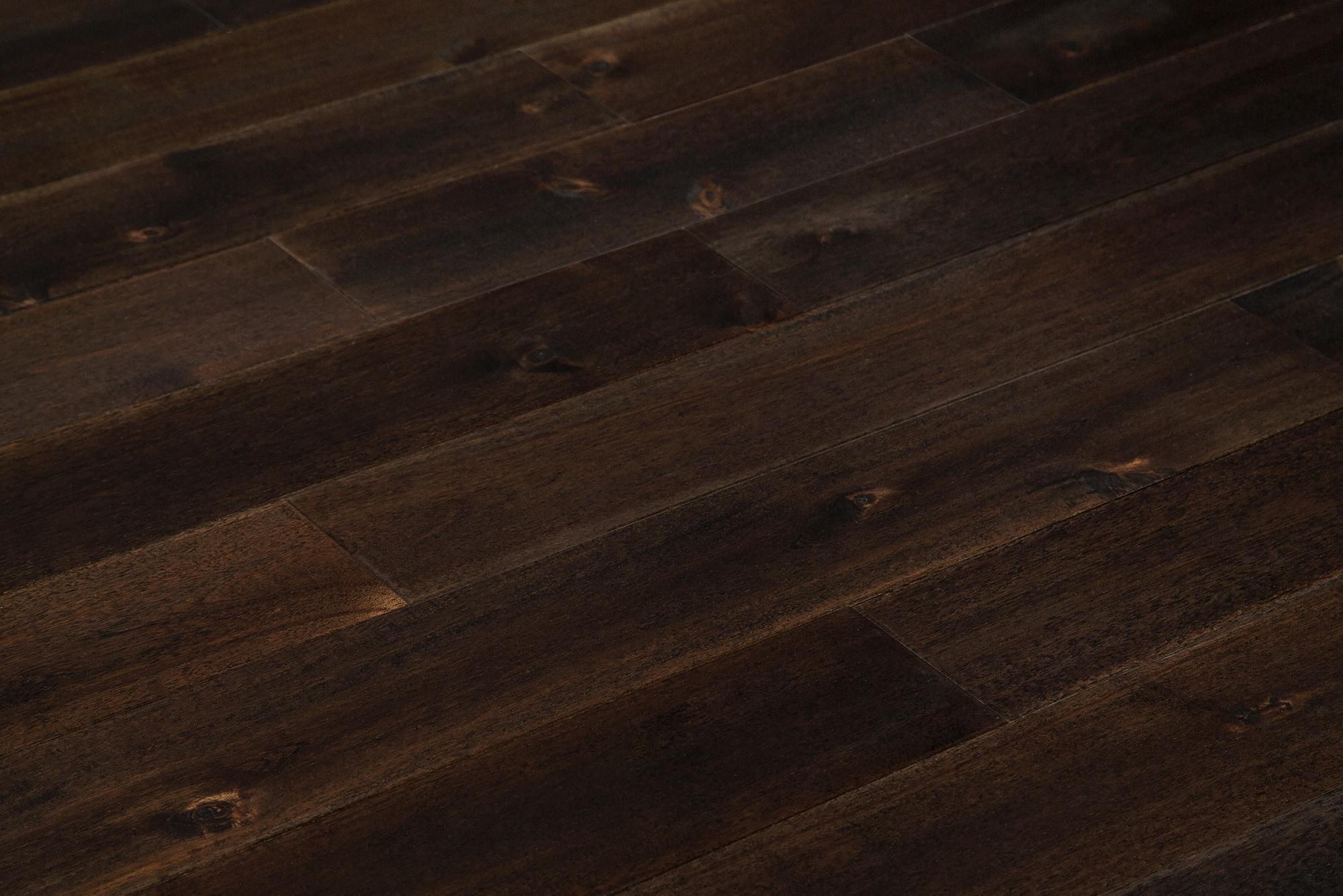 "Pekoe Brown / Acacia / Builders / 4 4/5"" Hardwood - Smooth Acacia Collection 0"