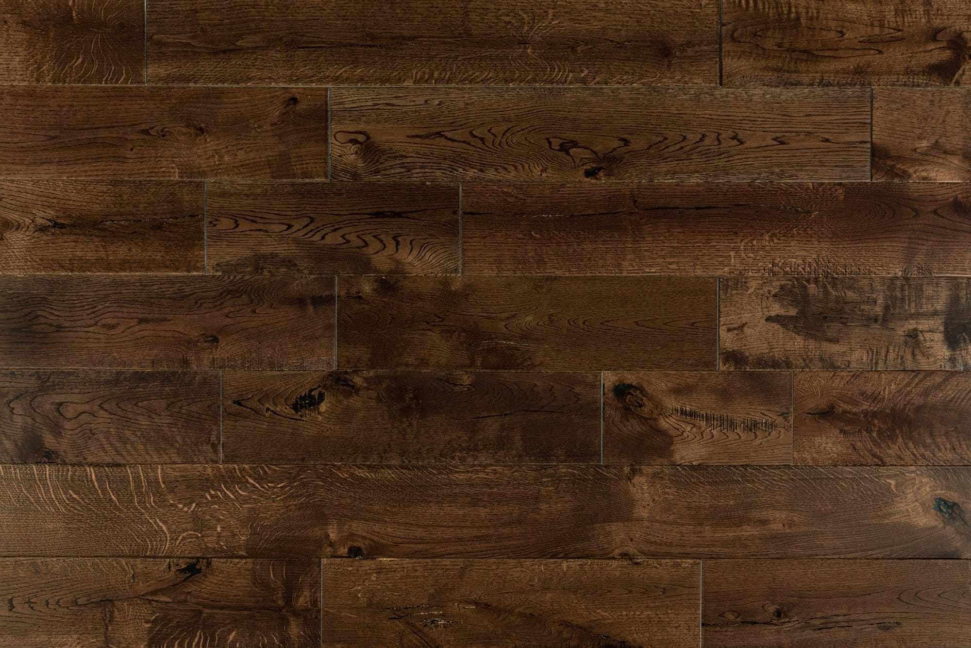 """Whiskey / French Oak / Builders / 6"""" / Distressed Hardwood Flooring - Maison Oak Collection 0"""