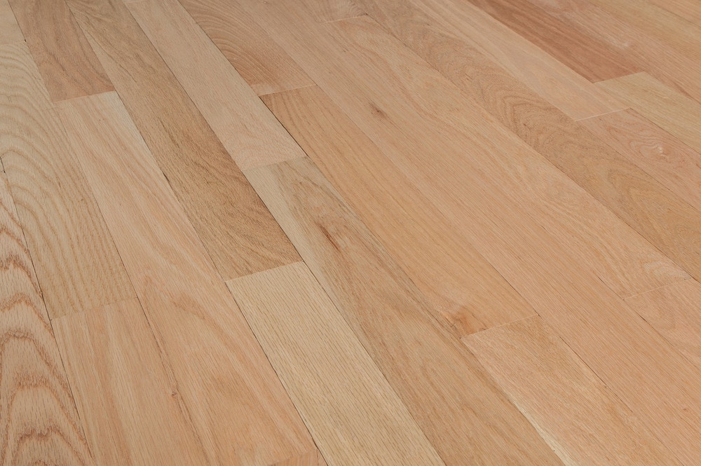 Free samples tungston hardwood unfinished oak red oak for Unfinished oak flooring