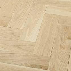 Tungston Plank - Herringbone White Oak Flooring