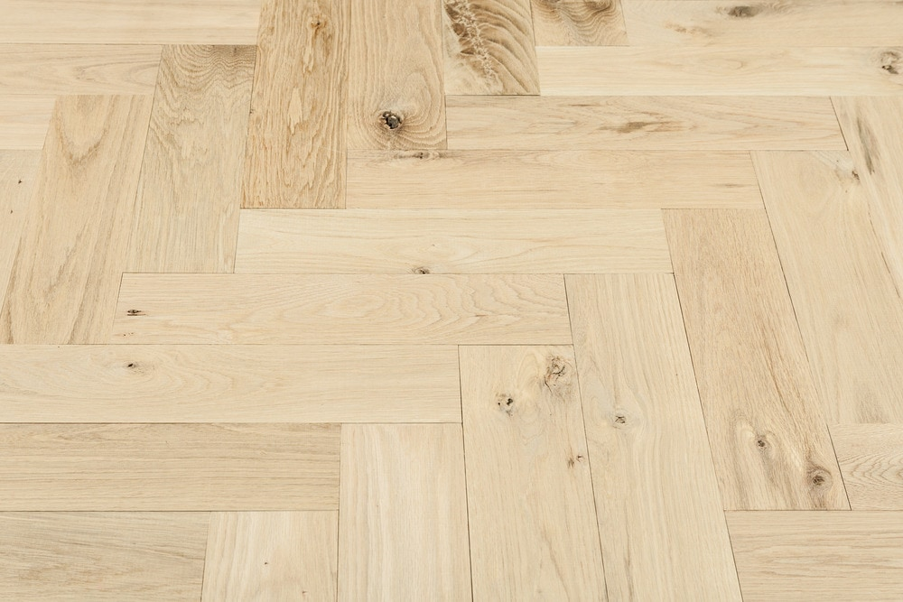 Tungston Tungston Plank Herringbone White Oak Flooring Herringbone