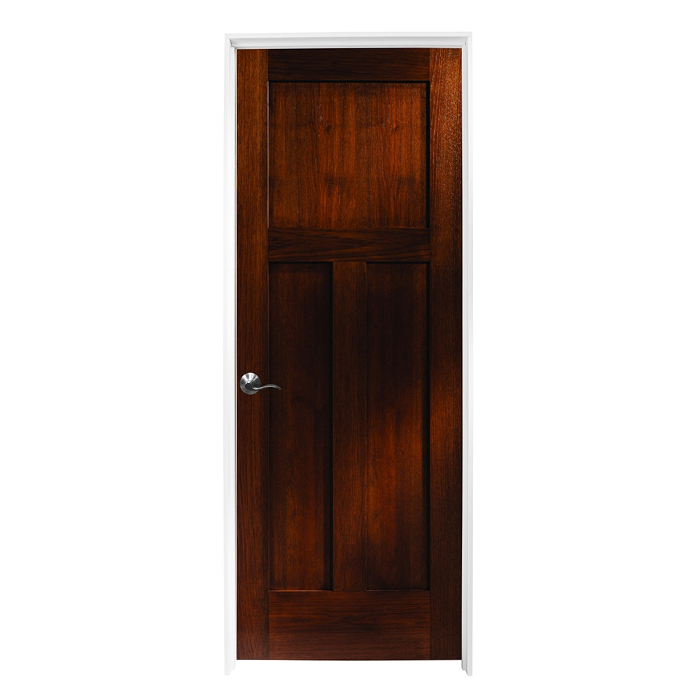 3 panel wood interior doors maple woodport doors interior knock down shaker collection espresso hickory 32