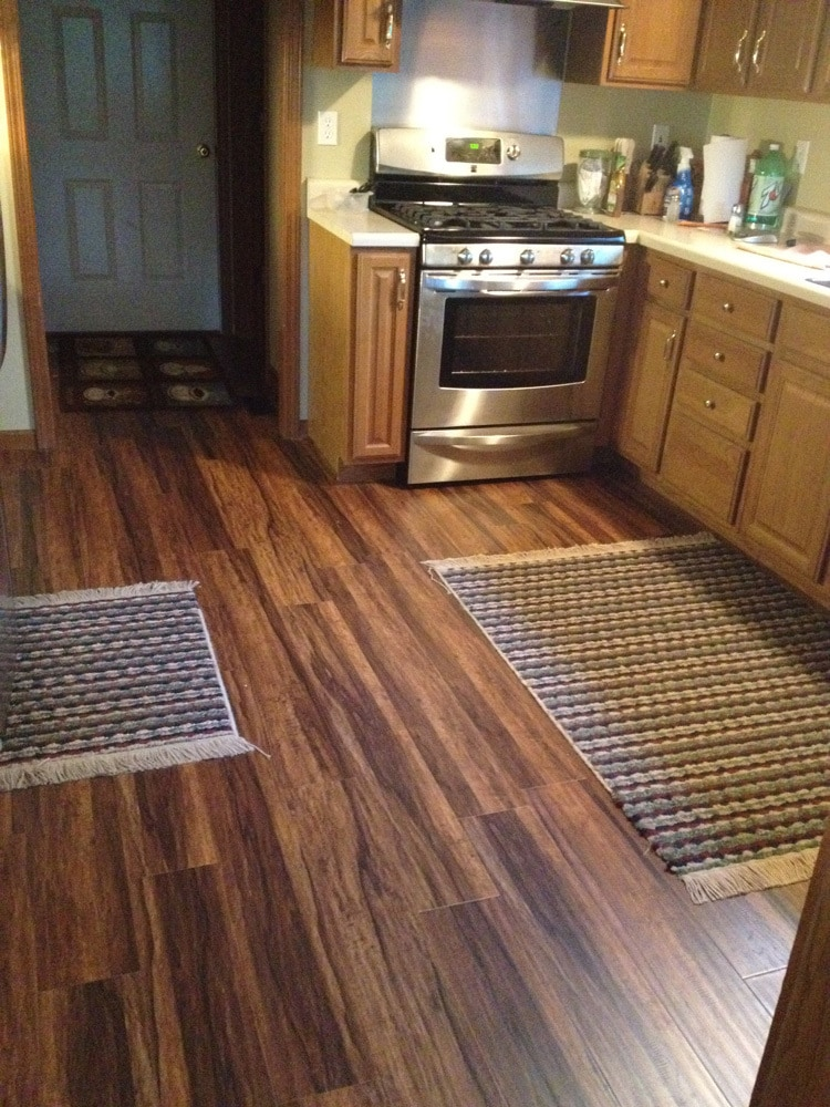 Vinyl flooring youll love wayfair kitchen floor covering for Laminate floor coverings for kitchens