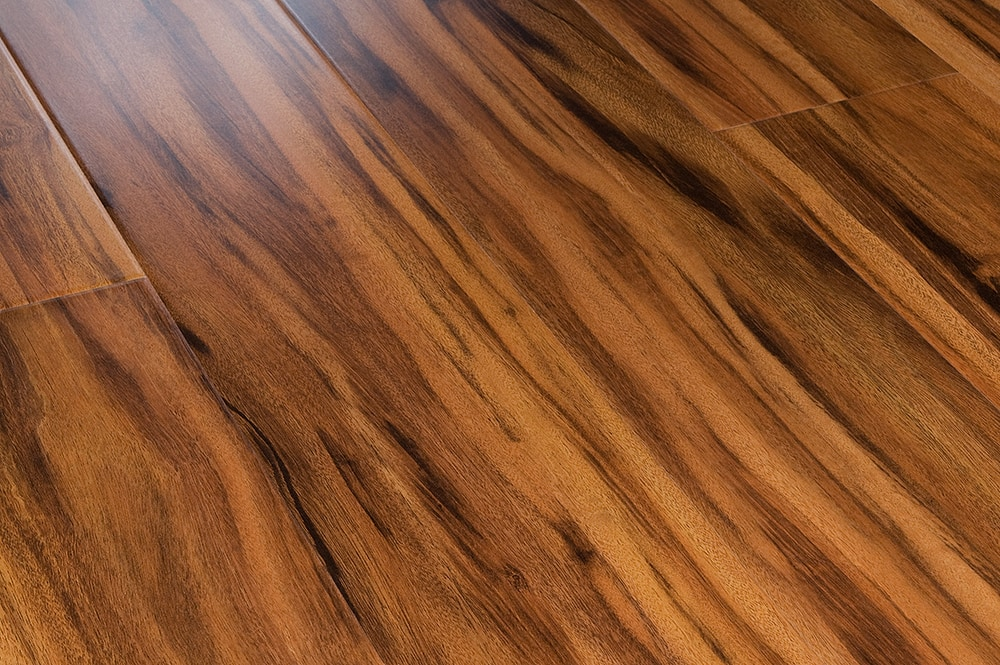 FREE Samples: Lamton Laminate   12mm Tigerwood Collection Siberian Tigerwood