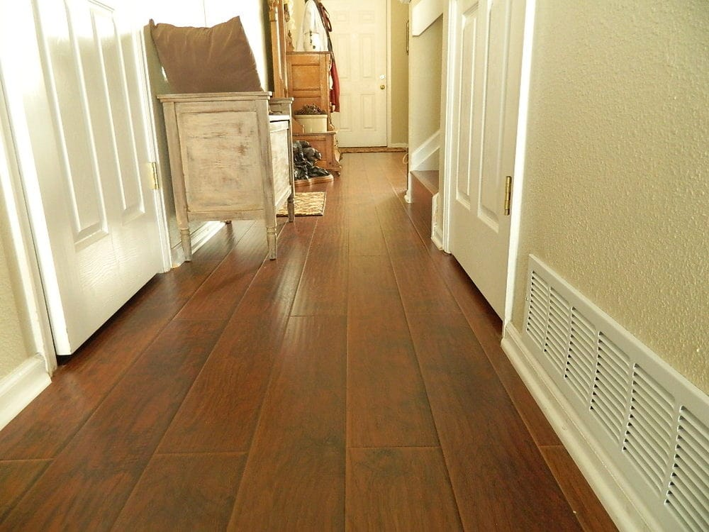 Free Samples Lamton Laminate 12mm Wide Board Collection Hickory