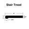 """Carbonized / Stair Tread-1""""x12""""x48"""""""