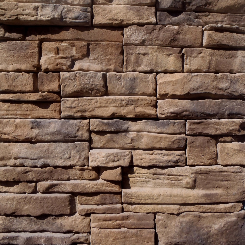 Free samples black bear manufactured stone ready stack for Stone facade siding