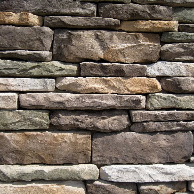 Free samples black bear manufactured stone ledge stone for Manufactured veneer stone