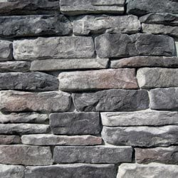 stone ledge stone midnight - Faux Stone Veneer