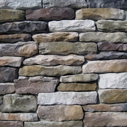 Manufactured Stone   Ledge Stone Aspen   Aspen / 10 Sq Ft Flat
