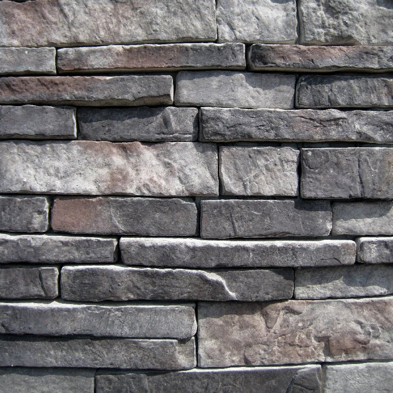 Stacked Stone Home Exterior: FREE Samples: Black Bear Manufactured Stone