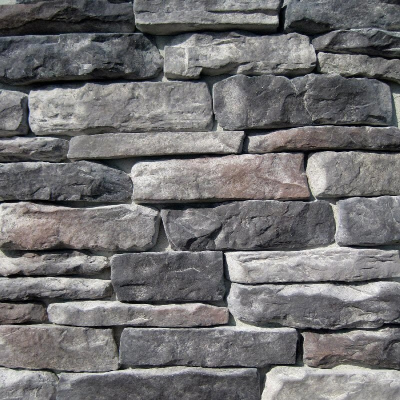 Ledger Stone Veneer : Free samples black bear manufactured stone ledge